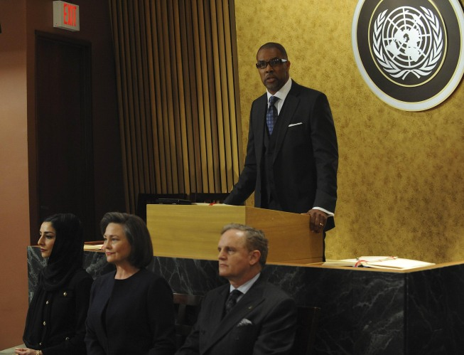 Eriq La Salle as U.N. Secretary General 24 Season 8