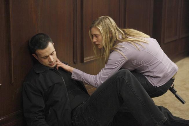 Dana Walsh checks Cole Ortiz's pulse