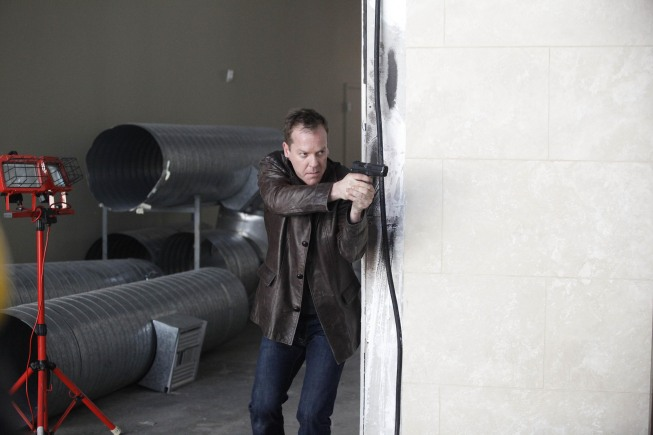 Jack Bauer tracks down Dana Walsh