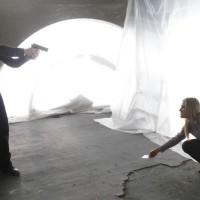 Dana Walsh gives Jack Bauer the evidence