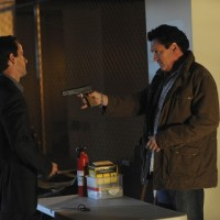 Pavel Tokarev and Michael Madsen as Jim Ricker 24 Season 8 Episode 21