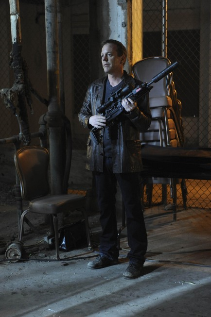 Jack Bauer prepares to torture Pavel Tokarev