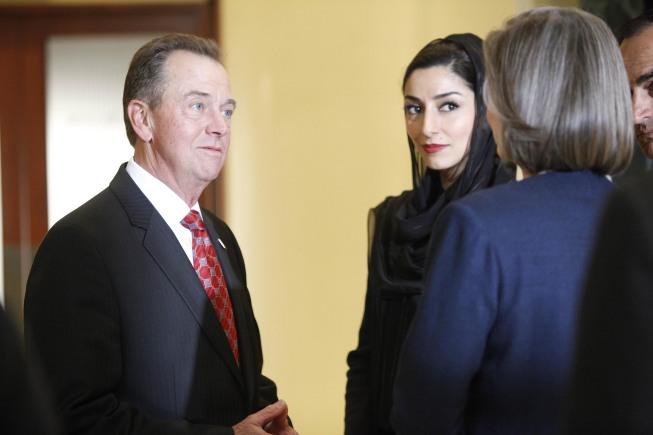 Charles Logan and Dalia Hassan 24 Season 8 Episode 22