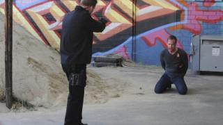 Jack Bauer at gunpoint in 24 Series Finale