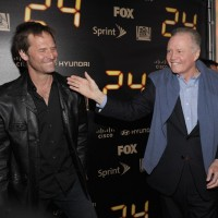 Jeffrey Nordling and Jon Voight 24 Series Finale Party