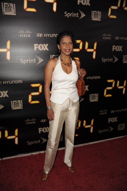 Penny Johnson Jerald at 24 Series Finale Party