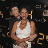 Carlos Bernard and Penny Johnson Jerald at 24 Series Finale Party