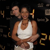 Carlos Bernard and Penny Johnson Jerald 24 Series Finale Party