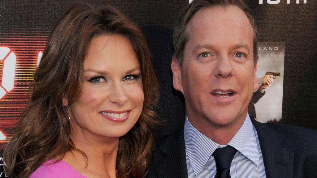 Mary Lynn Rajskub and Kiefer Sutherland attend the 24 Season 7 Finale Screening