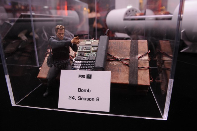 Bomb prop from 24 Season 6 at the 24 series finale party