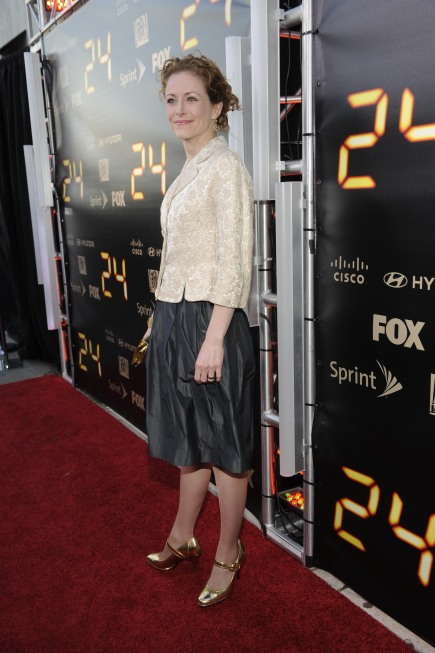 Leslie Hope at 24 Series Finale Party