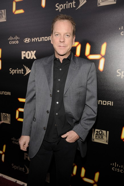 Kiefer Sutherland 24 Series Finale Party