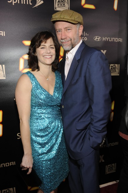 Sarah Clarke and Xander Berkeley at 24 Series Finale Party