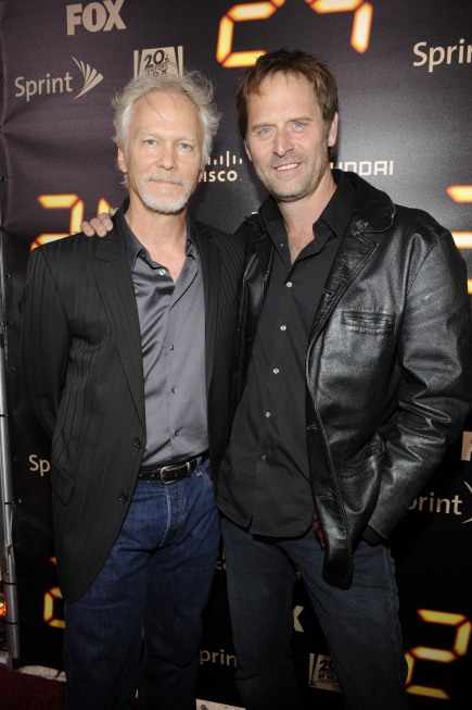 James Morrison and Jeffrey Nordling 24 Series Finale Party