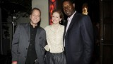 Kiefer Sutherland Leslie Hope and Dennis Haysbert at 24 Series Finale Party