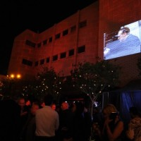24 Series Finale Party outside