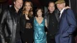 Jeffrey Nordling, Kim Raver, Sarah Clarke, Kiefer Sutherland, Xander Berkeley at 24 Series Finale Party