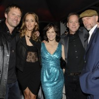 Jeffrey Nordling, Kim Raver, Sarah Clarke, Kiefer Sutherland, Xander Berkeley at 24 Series Finale Party