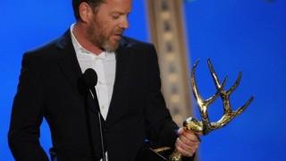 Kiefer Sutherland Biggest Ass Kicker Award