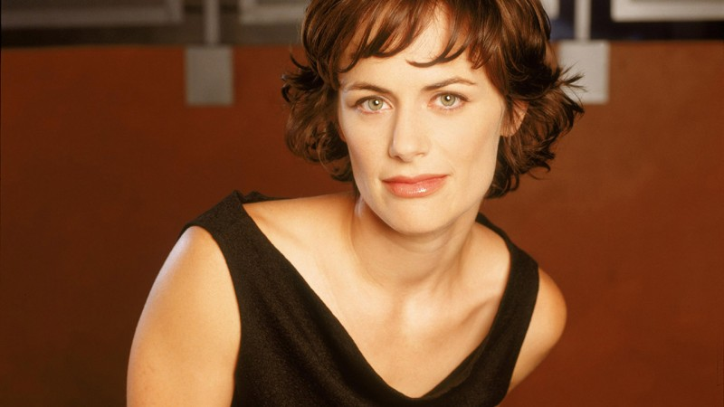 Sarah Clarke as Nina Myers in a 24 Season 1 Promotional Photo