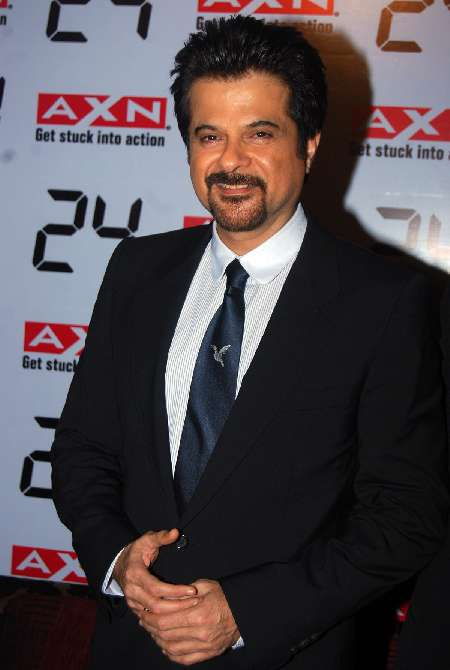 Anil Kapoor at 24 Season 8 premiere on AXN