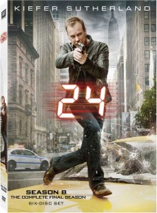 24 Season 8 DVD cover art