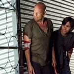 Bruce Willis and Justin Long in Live Free or Die Hard