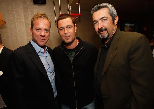 Kiefer Sutherland Carlos Bernard and Jon Cassar