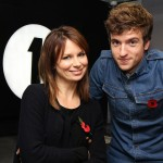 Mary Lynn Rajskub and BBC's Greg James