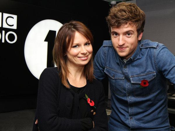 Mary Lynn Rajskub and BBC's Greg James