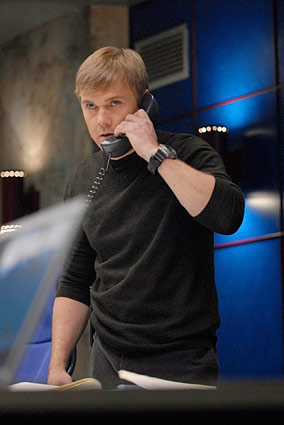 Ricky Schroder as CTU Agent Mike Doyle in 24 Season 6