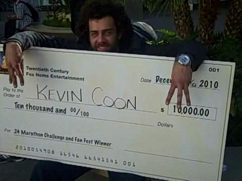 24 Marathon winner Kevin Coon