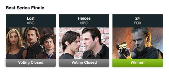 24 Best Series Finale Poll
