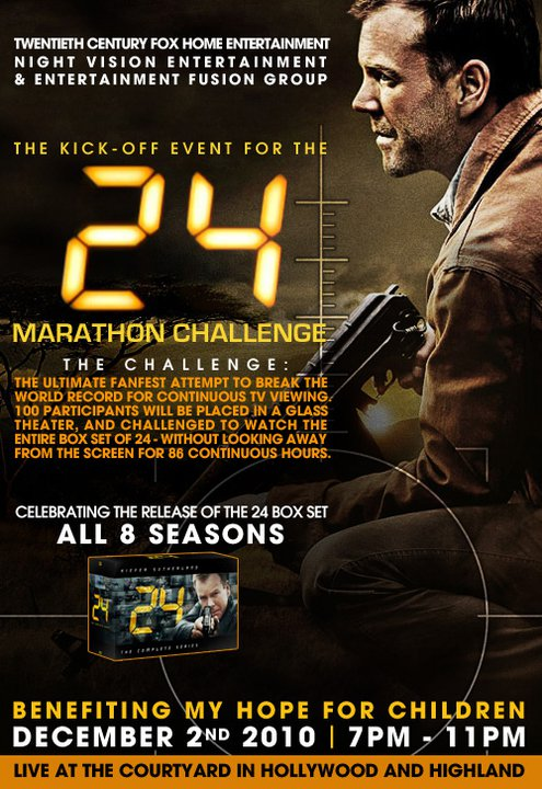 24 Marathon Fanfest Poster