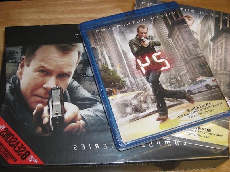 24 Season 8 DVD, Blu-Ray, and Complete Series box set