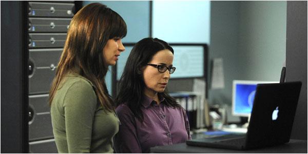 Chloe O'Brian and Janis Gold in 24 Season 7