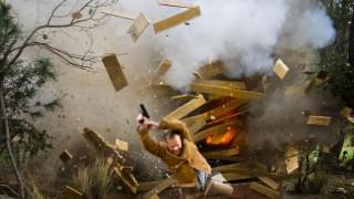 24 Redemption Behind the Scenes - Kiefer Sutherland explosion