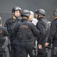 24 Series Finale Set Pics with CTU SWAT