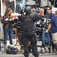 24 Series Finale Set Pics with CTU SWAT