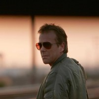Jack Bauer on the train tracks 24 Season 4 finale