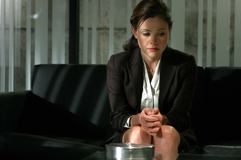 Michelle Dessler (Reiko Aylesworth) in 24 Season 4 finale