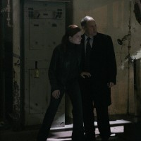 Alan Wilson with Cara Bowden in 24 Season 7 finale