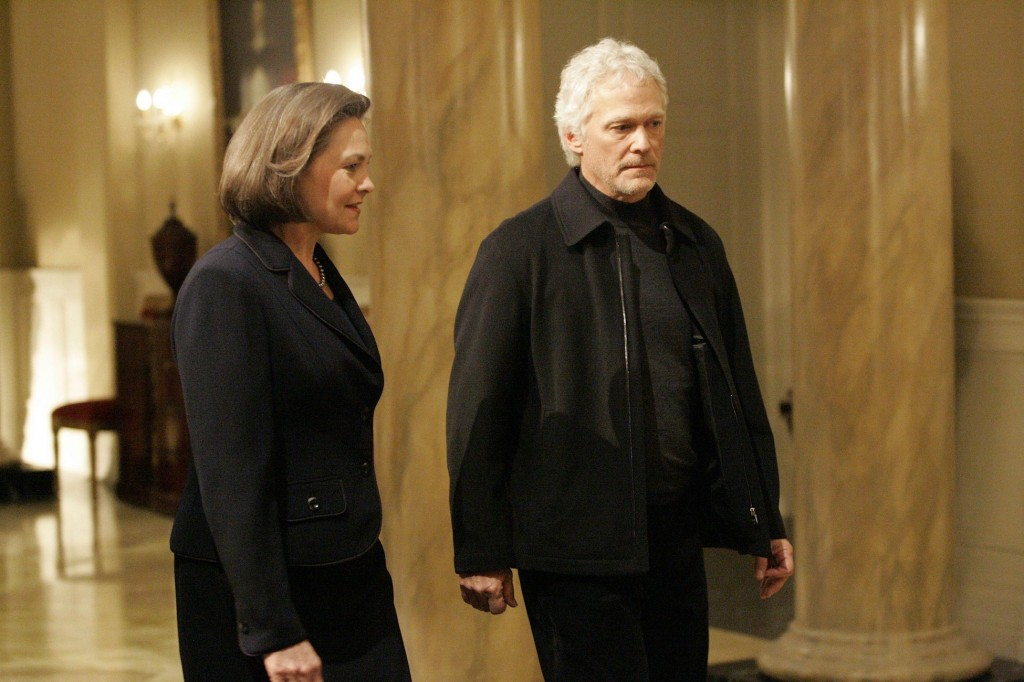 Allison Taylor and Bill Buchanan in 24 Season 7 Episode 10