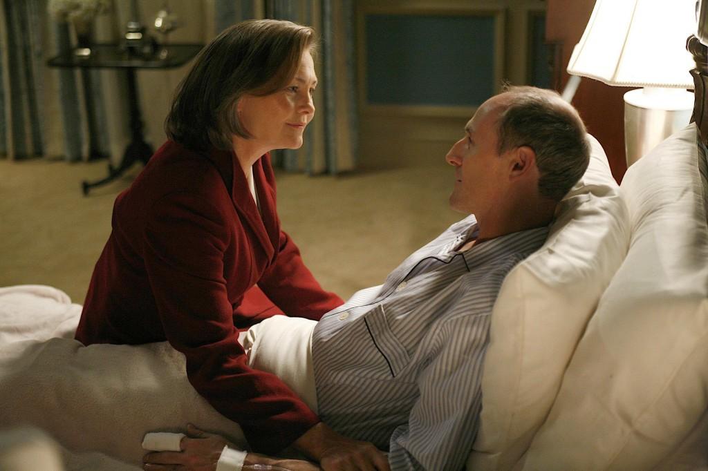 Allison Taylor at Henry Taylors bedside 24 Season 7 episode 21