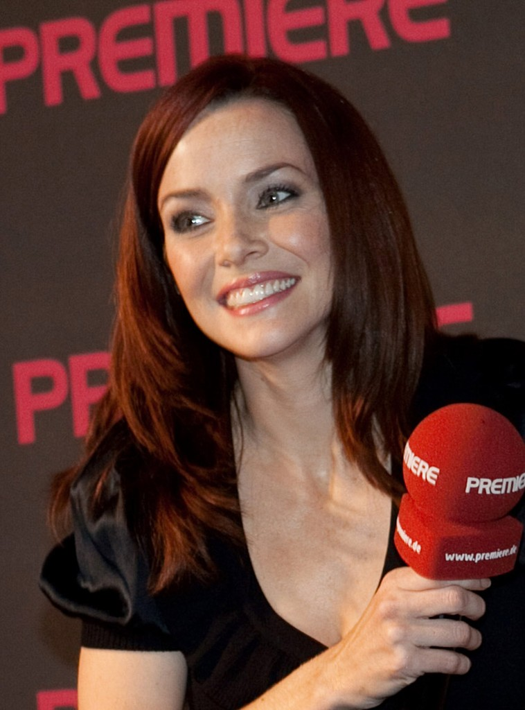 Annie Wersching at 24 Press Conference in Munich, Germany