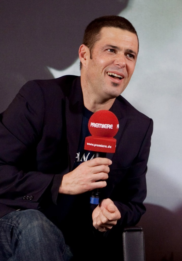 Carlos Bernard at 24 Press Conference in Munich, Germany
