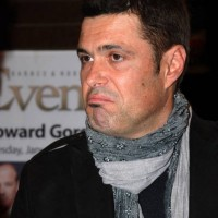 Carlos Bernard at Gideon's War book signing event