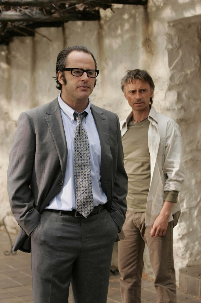 Robert Carlyle and Gil Bellows in 24 Redemption
