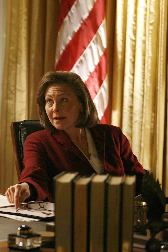 Cherry Jones as President Allison Taylor 24 Season 7 Episode 21
