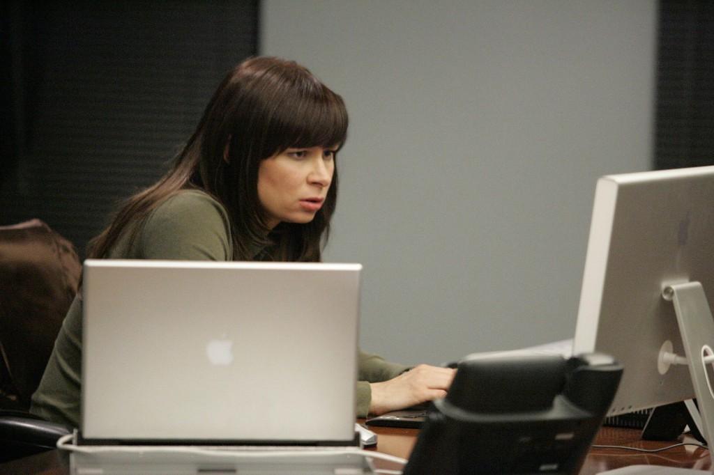Chloe O'Brian in 24 Season 7 Episode 10